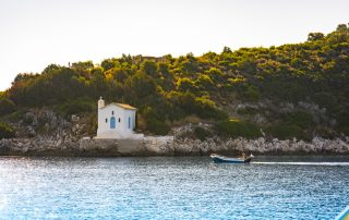 Segeltörnbericht Athen Korfu